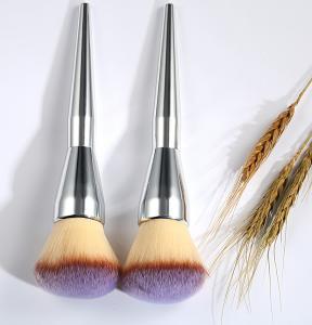 Oval Cosmetic Foundation Brush 19 cm Total Length 4.5 cm Hair Length