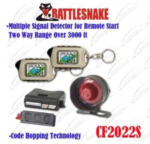 Buy cheap 2つのLCDのリモート/コード ホッピングの技術の車警報のページを捲る自動警報システム2の方法 product