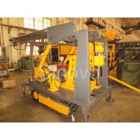 Buy cheap Sinovo Crawler Core Drilling Rig With Diesel Engine And Drilling Depth 180m product