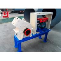 Buy cheap 30mm Discharging Size Hammer Crusher Machine For Slag And Limestone Industry product