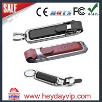 Buy cheap leather usb flash drive product