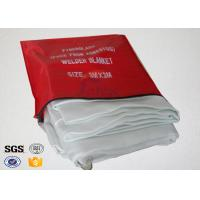 China 1m x 1m Heat Resistant Fire Rated Insulation Blanket For Kitchen on sale