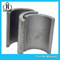 Buy cheap Industrial Ferrite Arc Magnet For Treadmill Motor / Water Pumps / Dc Motor product