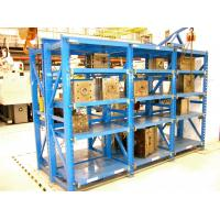 China Adjustable Drawable Mold Storage Racks for Plastic Mould Industry 2T Weight Load on sale