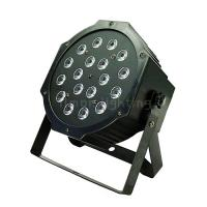 Buy cheap Cheap Price 18pcs 1w/3w RGB Indoor LED Plastic Par Stage Lights DMX512 product