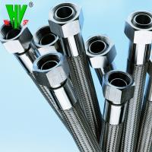 Buy cheap 304 Stainless steel garden hose flange flexible Teflon hose product