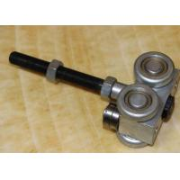 Buy cheap Horizontal Slide Movable Wall Hardware Wheels Steel Rim Black Color product