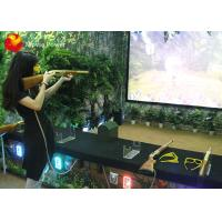 China Amusement Park Virtual Reality Simulator Shooting Games Simulator For Game Center on sale