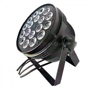 Buy cheap High Quality DMX 18x10w RGBW/RGBA 4in1 DJ Club Bar Disco LED Mini Par Lights product