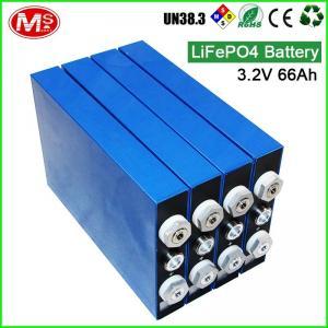 Buy cheap Large Capacity LiFePo4 Battery Cells 3.2v 66ah E Bike Lifepo4 Battery Pack product