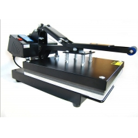 China hot sell cheap factory manual Heat Press Machine 38*38 for t-shirt on sale
