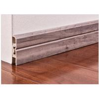 Buy cheap Interior Decorative Pvc Skirting Boards Flooring Accessories With Strip product