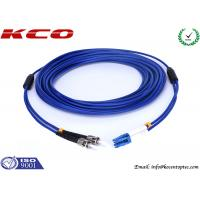 Buy cheap Anti Rodent Fiber Optic Patch Cord Single Mode, ST To LC Armored Fiber Patch Cable product