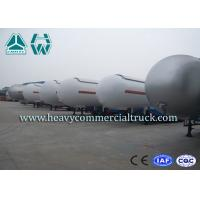 Quality Heavy Duty Tank LPG Semi Trailer For Gas Delivery Reliable Structure for sale