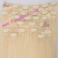 Buy cheap 100% Virgiin Remy Hair Cilp In Hair Extension product