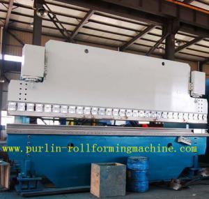 La machine à cintrer hydraulique de contrôle automatique de PLC pour couvrir la feuille, OIN/CE a approuvé