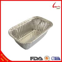 Buy cheap Small Household Oblong Aluminium Foil Cake Tray from wholesalers