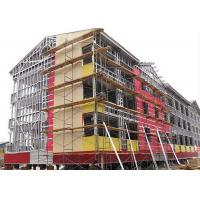Quality Modern Type Steel Structure Office , Multi Storey Steel Frame Office Building for sale