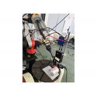 Buy cheap Cnc Laser Welding Machine ABB Robot Arm Low Operating Costs 150j Single Pulse Energy product