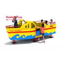 Buy cheap Huadong Plastic Play Equipment , Economical Play Ground Set Different Playing product