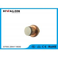 Round PTC Ceramic Heater Chip Constant Temperature With Perfect Surface Polish