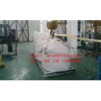 Flexible one Ton PP woven plastic Jumbo bag , Type A food storage big bags