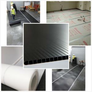 Feuille imperméable de protection de construction embarque de protection de plancher/pp