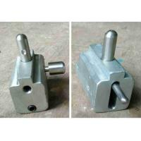 Buy cheap Glass Clip Glass Door Hardware Roller Customized Size High Precision With 2 Wheel product