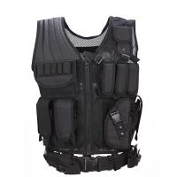 Buy cheap Outdoor 600D Nylon Men Military Tactical Vest Paintball Camouflage Molle Hunting Vest Assault Shooting product