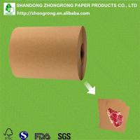 China PE coated kraft paper butcher paper roll on sale