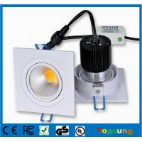 Buy cheap 6W 180 degree dimmable Hot sale square ceiling led downlight product