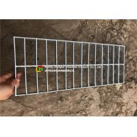 China Plain Flat Platform Hot Dipped Galvanized Steel Grating Closed / Open End on sale