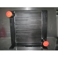 Buy cheap Black Plate Fin Brazing Hydraulic Oil Heat Exchanger for Excavator / vibratile Roller product