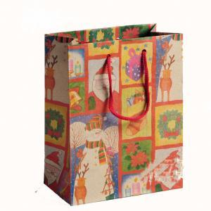 China New Style Custom Design Paper Shopping Bag Kraft Paper Bag Manufacturer Kraft Bag Factory on sale