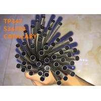China TP347 / S34700 Special Alloys Capillary For Medical Tube And Electronic Microtube on sale