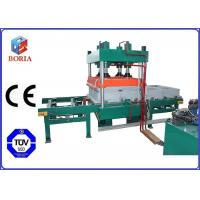 Buy cheap Four Cavities Pneumatic Vulcanizing Machine Electric Heating For Rubber Tile product