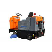 China High Efficiency Electric Ride On Floor Sweeper Street Road Cleaning Machines on sale