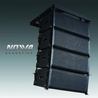Quality Pro Audio Line Column Array Speakers 10 Inch For DJ Performance / Pub for sale