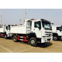 Buy cheap LHD/RHD HOWO Mining Dump Truck 4X2 290hp Durable Structure 7m Length from wholesalers