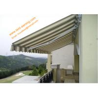 Buy cheap Waterproof  UV Resistance  Retractable Balcony Awning Aluminum Customized Sizes Awnings product