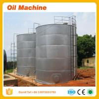Buy cheap New design technology rapeseeds oil expeller machine Gold supplier Carbon steel oil plant product