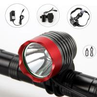 Quality AC100 ~ 240V 2000 Lumen CREE XM-L T6 LED Bike Front  Light / Bicycle Headlamps for sale