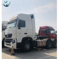 Buy cheap Howo 6x4 336hp 371hp 420 hp used tractor truck trailer head for sale from wholesalers