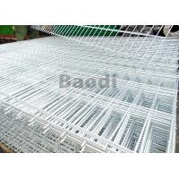 Electric Galvanized Welded Steel Mesh PanelsWires Resist Movement With Square Pattern