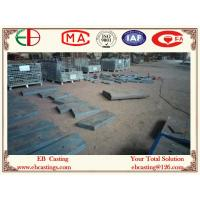 Buy cheap High Chromium Casting Chute Liner Wear Steel Plates 70mm Thick High Abrasion EB20073 product
