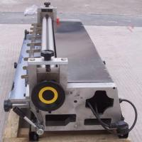 Buy cheap Table White Semi Automatic Rigid Box Making Machine For Gluing Cover Papers product
