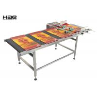 Buy cheap Multi Heads Inkjet Coding Converter Motor Belt Paging Conveyor Machine, 600mm from wholesalers