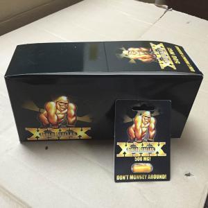 Buy cheap Realce masculino erval 24caps da tabuleta de Reallas XXX do ouro/especificação PBF & FDA da caixa product