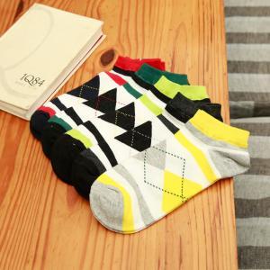 Buy cheap Calcetines coloridos de encargo del tobillo del algodón para los hombres product