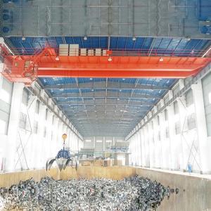 Buy cheap Warehouse Crane Garbage Crane / Scrap Metal 15 Ton 20 Ton Bridge Crane product